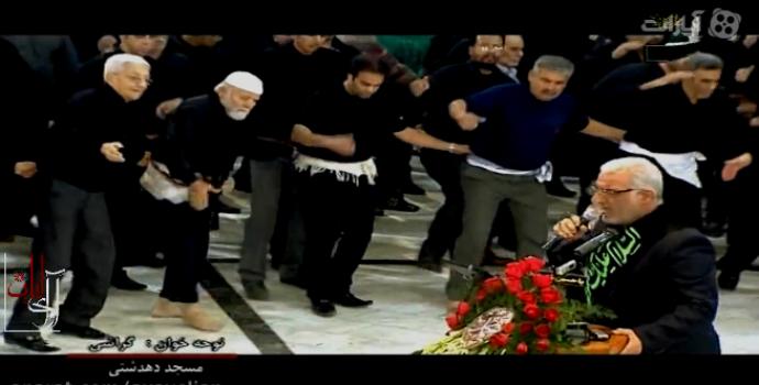 شب ۲۸ صفر ۱۳۹۲ مسجد دهدشتی – حاج مصطفی گراشی