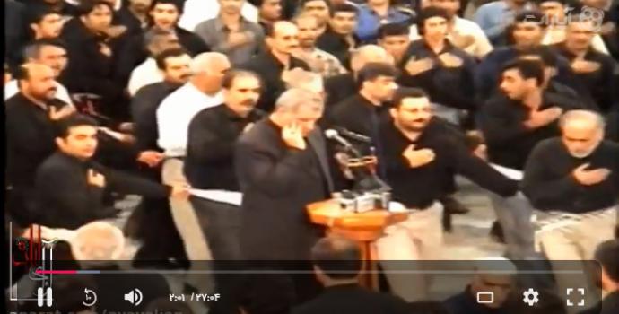 تاسوعا ۱۳۸۲ مسجد دهدشتی – حاج مصطفی گراشی